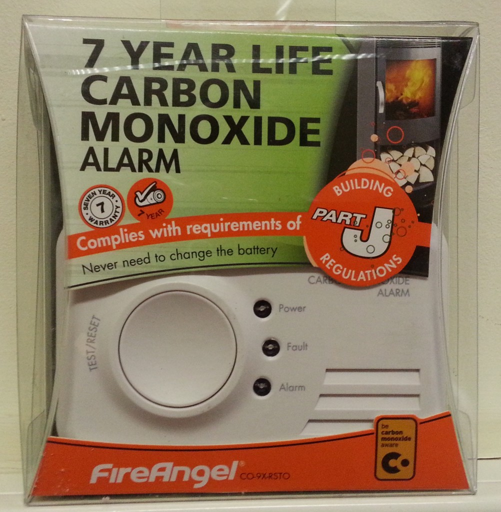 Fireangel CO-9X Carbon Monoxide Alarm with 7 year Sealed for Life Lithium Battery